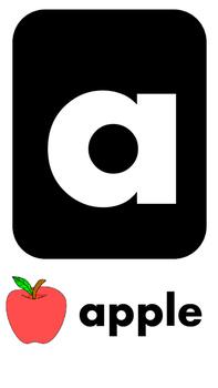 Alphabet Lowercase Playdough Mats