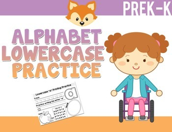 Alphabet Lowercase Print Packet