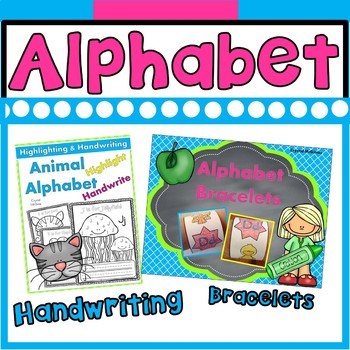 Alphabet MEGA BUNDLE (9 Alphabet Packs) Centers, Books, Printables, & Much More!