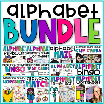 Alphabet MEGA Bundle (Preschool & Kindergarten)
