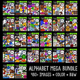 Alphabet MEGA Bundle {Creative Clips Digital Clipart}