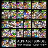Alphabet MEGA Bundle {Creative Clips Digital Clipart}