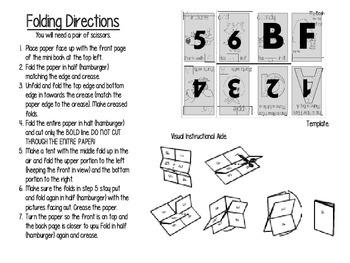 Alphabet MINI books (NO STAPLES)