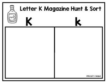 Alphabet Magazine Hunt