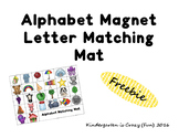 Alphabet Magnet Letter Matching Mat
