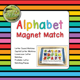 Alphabet Magnet Match Letters and Sounds