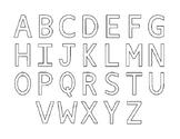 Alphabet Magnet Matching
