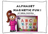 Alphabet Magnetic Sheets