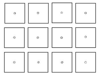 Alphabet Magnifying Glass Cards