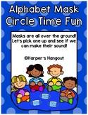 Alphabet Mask Circle Time Game