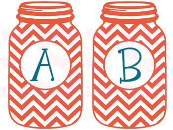 Alphabet: Mason Jar