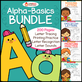 Letters Mastery Bundle { Letter Recognition, Printing, Identification }