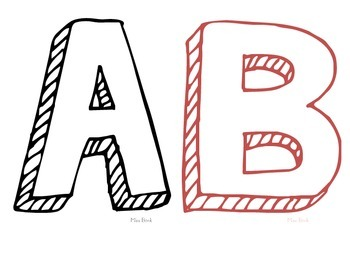 Alphabet Mat