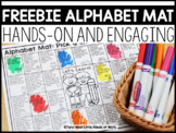 Alphabet Mat DISTANCE LEARNING  | FREEBIE DOWNLOAD |