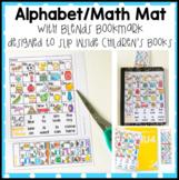 Alphabet Mat Math Mat & Blends Bookmark