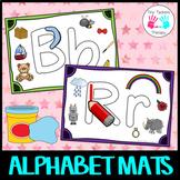 Alphabet Mats - Letter formation/letter sounds