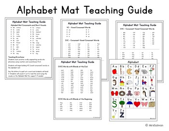 Alphabet Mat with Teaching Guide
