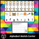Alphabet Match Center