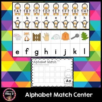 Alphabet Match Center