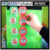 Alphabet Match Activity Center (Dog Theme)
