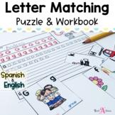 Alphabet Match & Alphabet Book | Cognates in English & Spanish