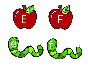 Alphabet Match (Apples and Worms)