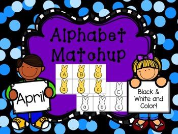 Alphabet Match {April}