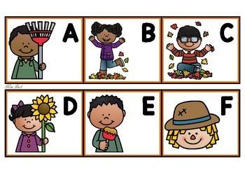Alphabet Match- Autumn Theme