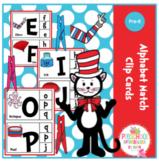 Alphabet Match Clip Cards