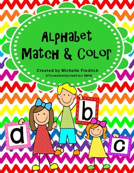 Alphabet Match & Color