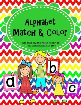 Alphabet Match & Color