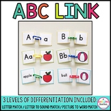 Alphabet Match (Differentiated)
