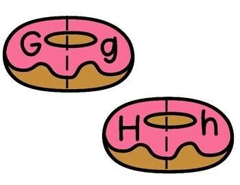 Alphabet Match Donuts