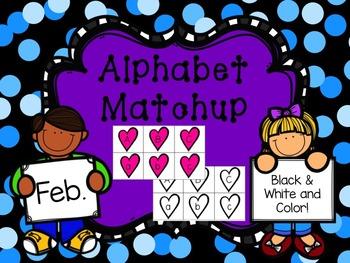 Alphabet Match {February}