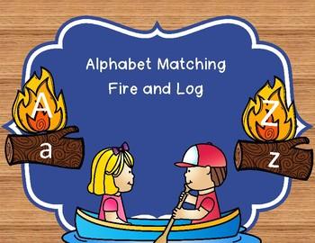 Alphabet Match (Fire and Log)
