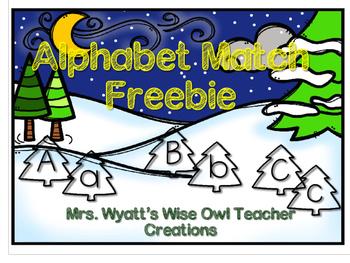 Alphabet Match Freebie