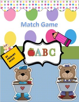 Alphabet Match Game