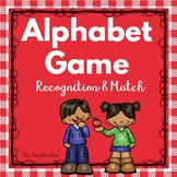 Special Education- Kindergarten-Alphabet Game-Recognition