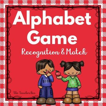 Special Education- Kindergarten-Alphabet Recognition &  Ma