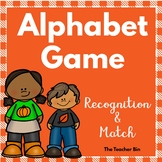 Special Education-Kindergarten-Alphabet Game Recognition &