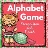 Sp. Education - Kindergarten- Alphabet Game - Recognition
