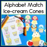 Letter Sound Sorting Game Ice Cream Theme