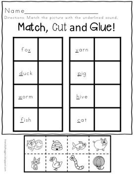 Alphabet Match - Interactive Flaps