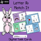 Alphabet Match It - Letter Rr BOOM Cards Digital and Printable