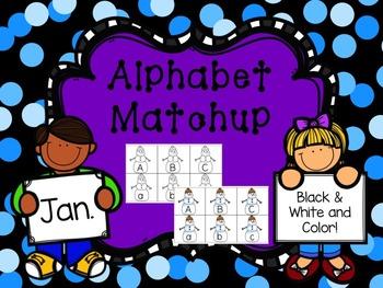 Alphabet Match {January}