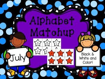 Alphabet Match {July}