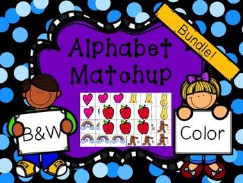 Alphabet Match {BUNDLE}
