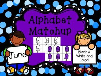 Alphabet Match {June}