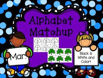 Alphabet Match {March}