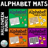 Alphabet Match Mats - Halloween Bundle